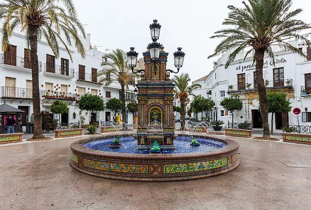 Plaza De España, Vejer De La Frontera, Cádiz, España