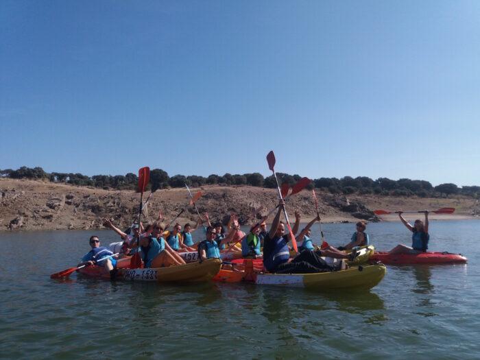 Canoas y Paella