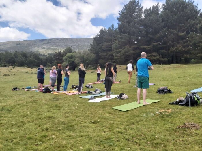 Senderismo Yoga 17